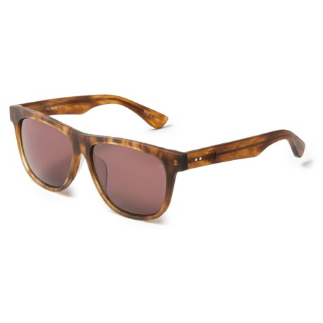 Filtrate Calloway Raw Wayfarer Sunglasses in Tortoise