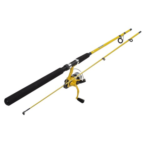 Fin Chaser Spinning Rod and Reel Combo – 2-Piece, 7?