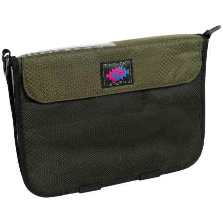 Finsport 12x7 Fishing Tackle Wallet in Forest Green - Closeouts