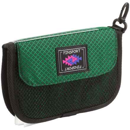 Finsport 6x3 Fly Wallet in Green - Closeouts