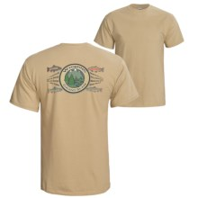Fintastic Tees Grand Slam T-Shirt - Short Sleeve (For Men) in Wyoming - Closeouts