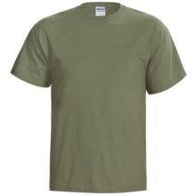 Fintastic Tees Simplifly T-Shirt - Cotton, Short Sleeve (For Men) in Green - Closeouts