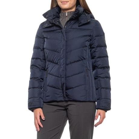 Fire+Ice Sally Down Ski Jacket (For Women) - NAVY (4 )