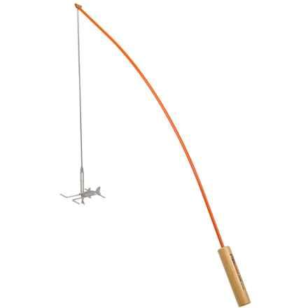 Firebuggz Fishing Pole Campfire Roaster in Orange - Closeouts