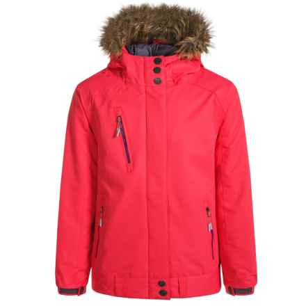 Firefly Jennifer Jacket - Waterproof, Insulated (For Big Girls) in Paradise Pink - Closeouts