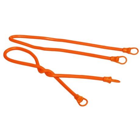 """Firelite 24"""" Gear Ties - 4-Pack in Orange"""