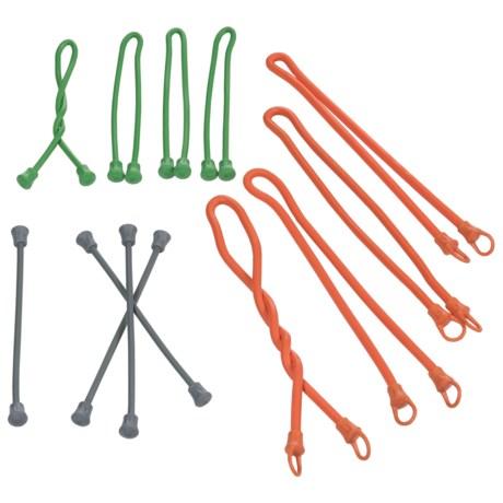 Firelite Bundle Pack Gear Ties - 12-Pack in See Photo