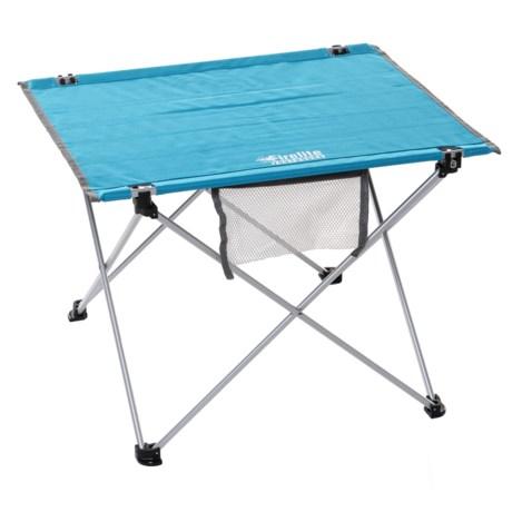 Firelite Ultra Lightweight Table In Light Blue