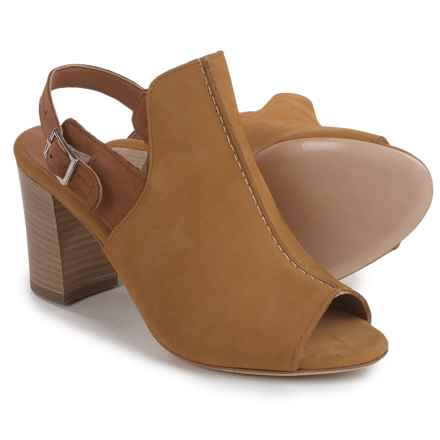 Firenze - Made in Italy Made in Italy Studio Tango Slingback Shoes - Leather, Open Toe (For Women) in Mustard - Closeouts