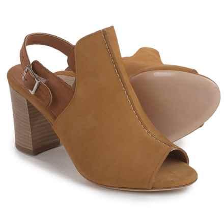 Firenze.Studio Tango Slingback Shoes - Leather, Open Toe (For Women) in Mustard - Closeouts
