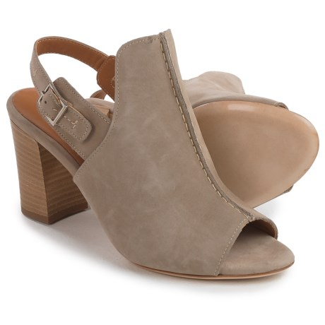 Firenze.Studio Tango Slingback Shoes - Leather, Open Toe (For Women) in Natural