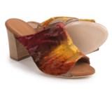 Firenze.Studio Teri Mule Shoes - Leather, Open Toe (For Women)