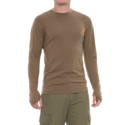 First Lite Llano Lightweight Shirt - Merino Wool, Long Sleeve (For Men) in Dry Earth - Closeouts