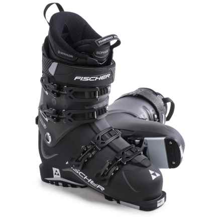 Fischer Hybrid 12+ Thermoshape Ski Boots (For Men) in Black - Closeouts