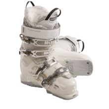Fischer Hybrid 9 Plus Ski Boots (For Women) in Pearl/Pearl - Closeouts