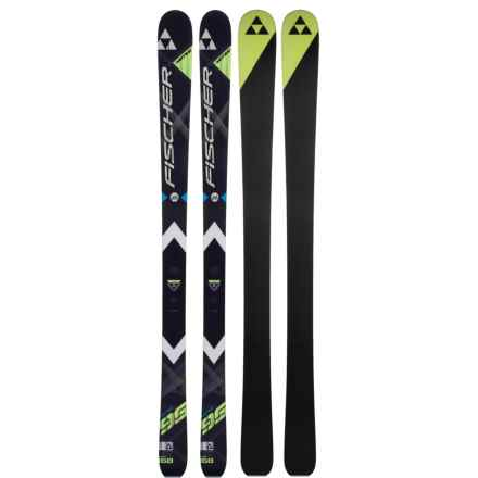 Fischer Motive 95 Ti All Mountain Alpine Skis in See Photo - Closeouts