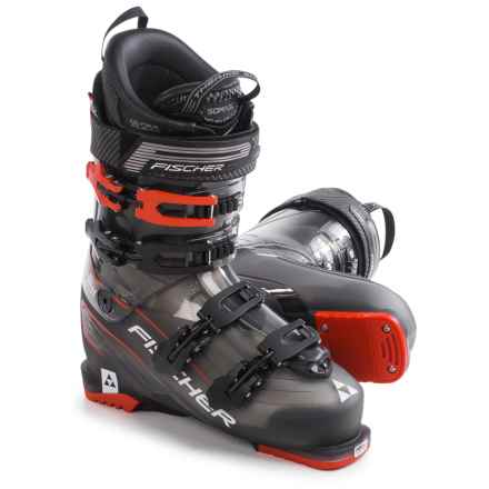 Fischer Progressor 11 Thermoshape Ski Boots (For Men) in Black/Red - Closeouts