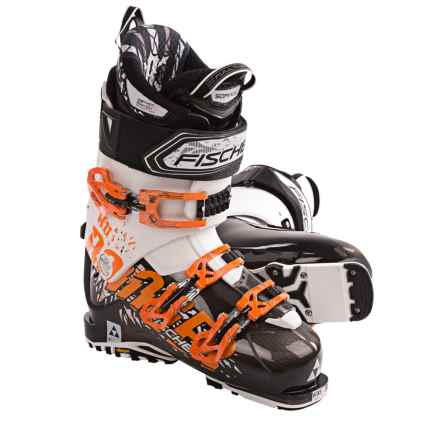 Fischer Ranger 11 Ski Boots (For Men and Women) in Black/White - Closeouts