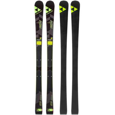 Fischer RC4 World Cup GS Jr. Alpine Skis (For Kids) in See Photo - Closeouts