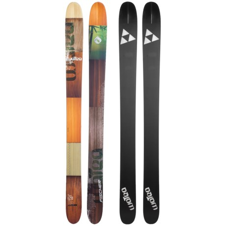 Fischer Watea 120 Skis - X17 XFat 130 Bindings in See Photo