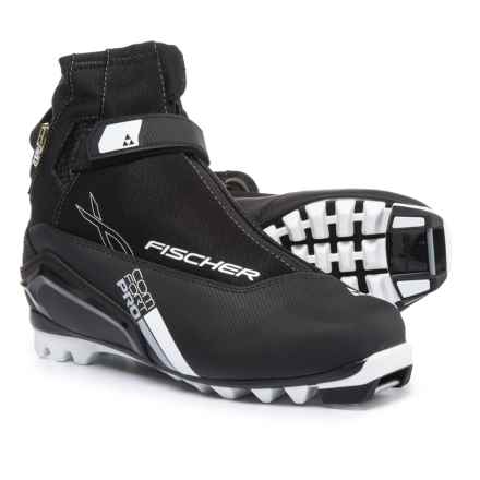 Fischer XC Comfort Pro Nordic Ski Boots (For Men) in Black - Closeouts