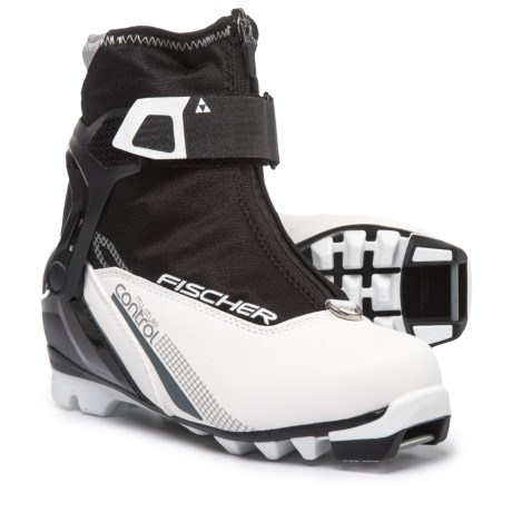 Fischer XC Control My Style Nordic Ski Boots (For Women) in Black
