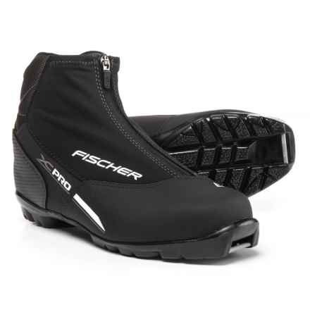 Fischer XC Pro Nordic Ski Boots (For Men) in Black - Closeouts