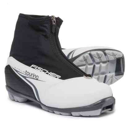 Fischer XC Touring My Style Nordic Ski Boots (For Women) in Black/White - Closeouts