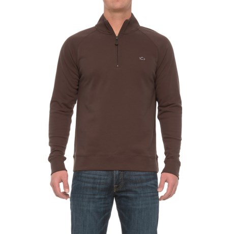 Fish Hippie Rye Creek Sweater - Zip Neck (For Men)