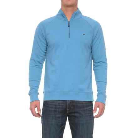 Fish Hippie Rye Creek Sweater - Zip Neck (For Men) in Heritage Blue - Closeouts