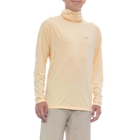 Fish Ninja Hooded Mask Shirt – UPF 50+, Long Sleeve (For Men)