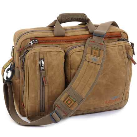 Fishpond Boulder Briefcase in Silt - Closeouts