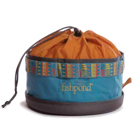Fishpond Bow Wow Travel Food Bowl in Bahama Blue - Closeouts