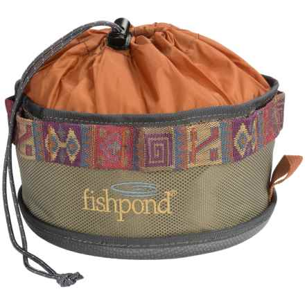 Fishpond Bow Wow Travel Food Bowl in Sand - Closeouts