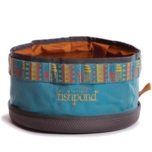 Fishpond Bow Wow Travel Water Bowl in Bahama Blue - Closeouts