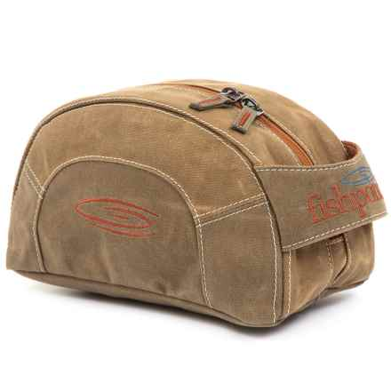 Fishpond Cabin Creek Toiletry Kit in Silt - Closeouts