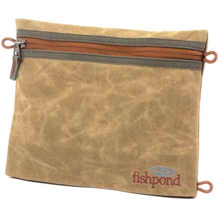 "Fishpond Eagle's Nest Travel Pouch - 8x9.75"" in Silt - Closeouts"
