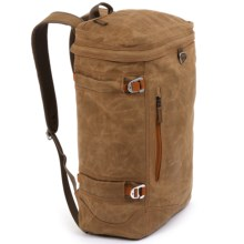 Fishpond River Bank Backpack - 25L, Waxed Cotton in Silt - Closeouts