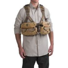 Fishpond Vaquero Tech Pack Vest - Waxed Cotton in Silt - Closeouts