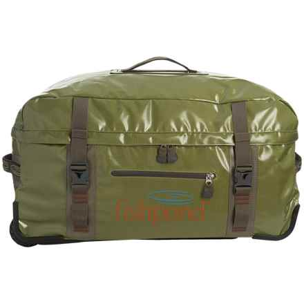 Fishpond Westwater Large Rolling Luggage Duffel Bag in Cutthroat Green - Closeouts