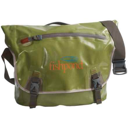 Fishpond Westwater Messenger Bag in Cutthroat Green - Closeouts