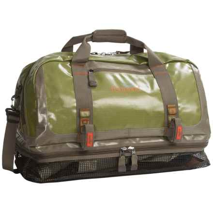 Fishpond Yellowstone Wader Duffel Bag in Cutthroat Green - Closeouts