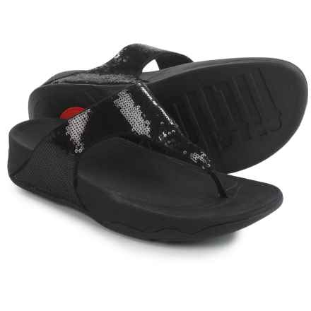 FitFlop Electra Classic Sandals (For Women) in Black - Closeouts