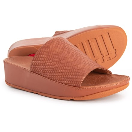 dcfc558e589 FitFlop Ginny Slide Sandals (For Women) in Caramel