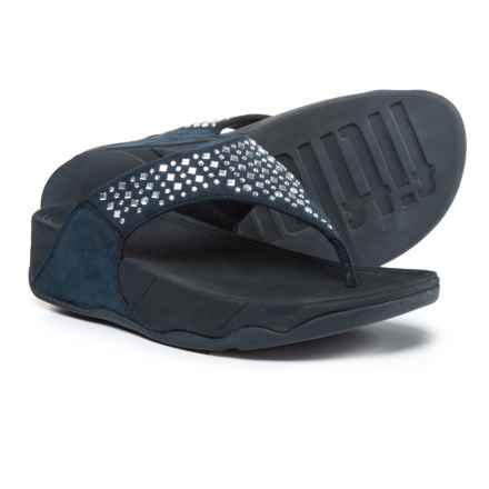 FitFlop Novy Thong Sandals (For Women) in Supernavy - Closeouts