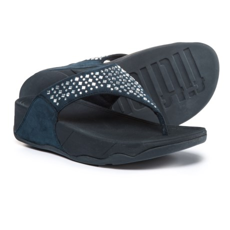FitFlop Novy Thong Sandals (For Women) in Supernavy