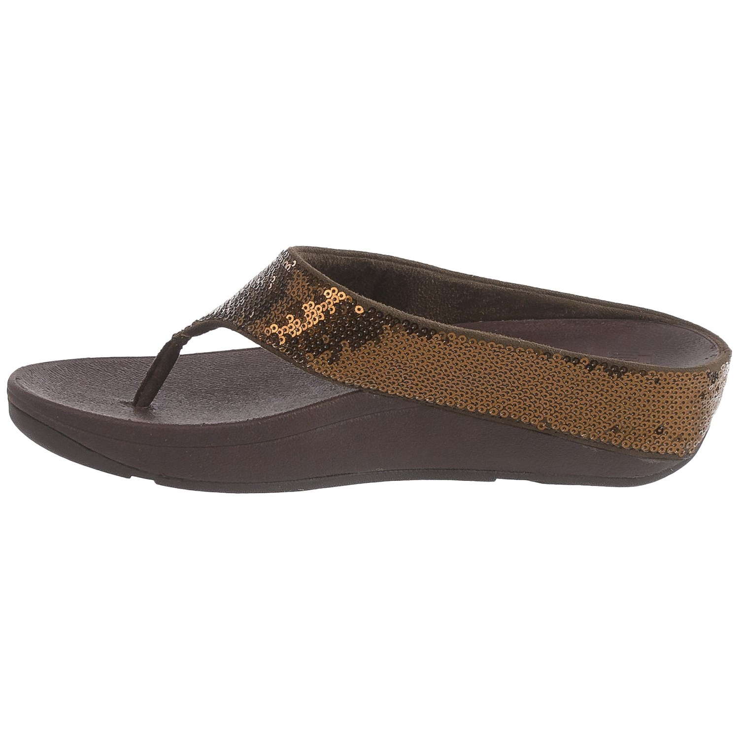 FitFlop Ringer Sequin Toe Post r4CUonmYM