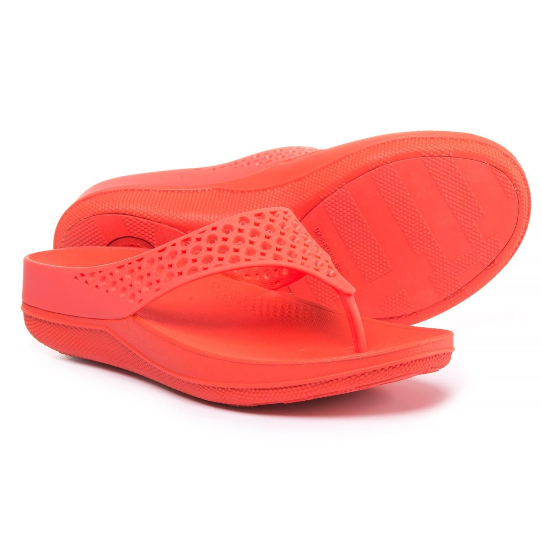 34101f45b1f204 FitFlop Ringer Wellyjelly Superlight Flip-Flops (For Women ...