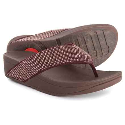 1661275ecdb FitFlop Ritzy Thong Sandals (For Women) in Berry