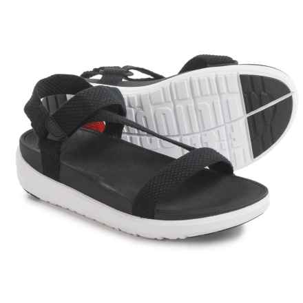 FitFlop Z-Strap Sandals (For Women) in Black - Closeouts